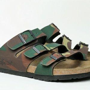 Papillio Birkenstock Sandals 37 Camouflage Germany